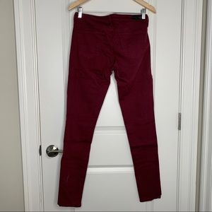 Ag Adriano Goldschmied Pants - Ag The Legging Super Skinny Distressed Pants